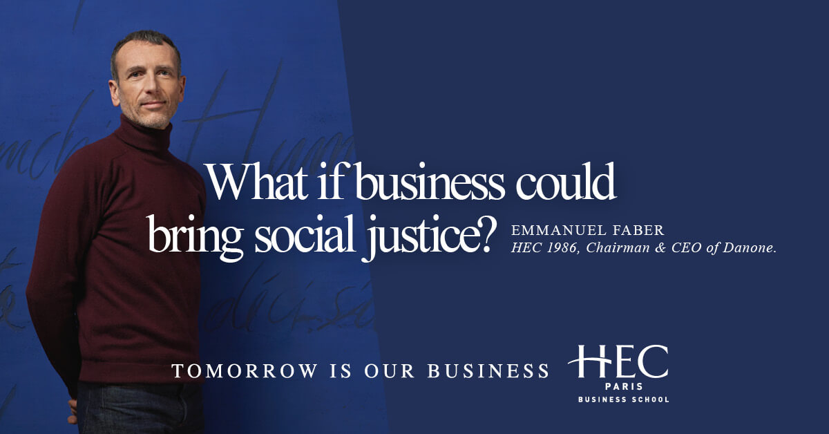 What if business could bring social justice?