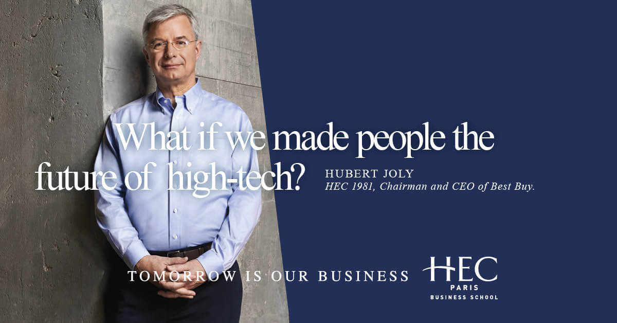 What if we made people the future of high-tech?