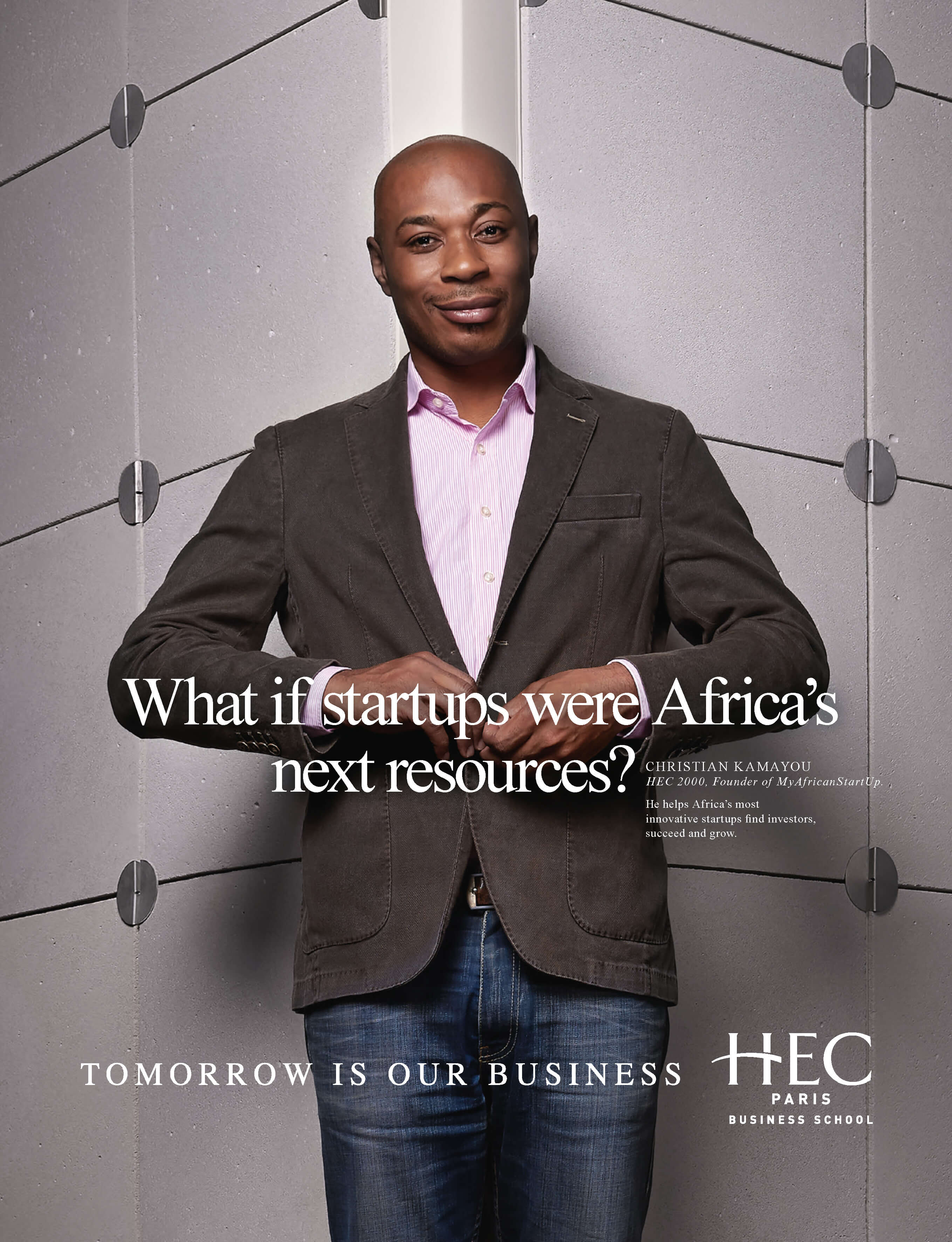 What if startups were Africa's next resources?