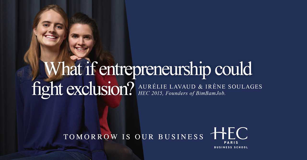 What if entrepreneurship could fight exclusion?